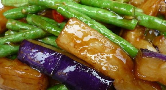 果蔬百科豇豆茄子